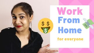 13 Work From Home Options for Everyone in India | Nidhi Katiyar