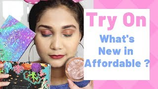 what's New in Affordable?? Trying out new Affordable Makeup from Cuffsnlashes | Nidhi Katiyar