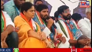 CONGRESS LEADERS HUNGER STRKE IN GANDHI BHAVAN FOR INTER RESULTS ISSUE