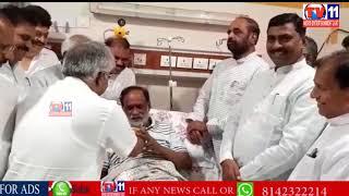 BJP LEADER K.LAKSHMAN ENDS FIVE-DAY HUNGER STRIKE OVER INTER RESULS
