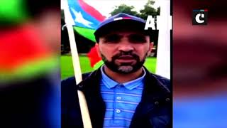 Free Balochistan Movement activists stage protest to highlight Pakistani atrocities