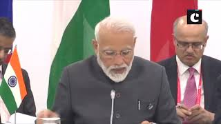 G20 Summit: PM Modi attends Russia-India-China Informal Meeting in Osaka