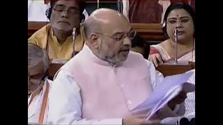 Amit Shah seeks six-month extension of President's Rule in J&K