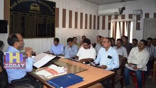 28 JUNE N 4  Tauni Devi organized a level-level meeting under Child Development Services Scheme