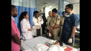 CP RACHAKONDA VISITED KAMINENI HOSPITAL TO INSTRUCTED DOCTOR FOR BEST TREATMENT TO PRANITHA (3)