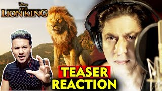 The Lion King Teaser Reaction | Rise Of The King - Shahrukh Khan | Aaryan Khan