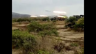 Watch: Indian Army's BM 21 Grad artillery firing at Deolali firing range