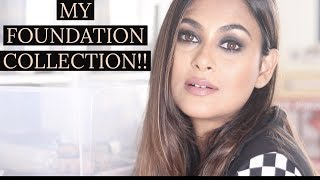 My Foundation Collection| Chatty Video | Makeup|