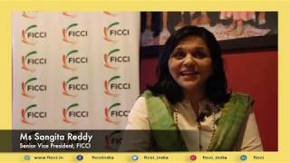 Accord priority status to Healthcare sector: Sangita Reddy, Sr VP, FICCI