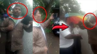 VIRAL VIDEO: Person Claiming To Be OSD To Chief Minister, Argues With Traffic Cops