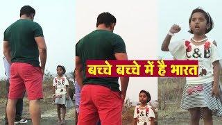 Salman Khan Shares A VIDEO Of A Brave Girl Jai Hind   Must Watch