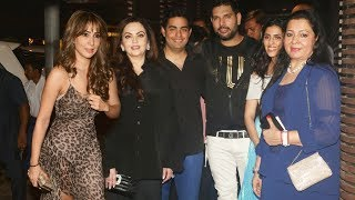 Yuvraj Singh GRAND Retirement Party 2019 | Ex Girlfriend Kim Sharma Ambani Family