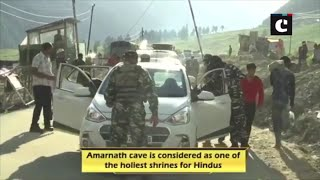 Heavy security in place as Amarnath Yatra begins today