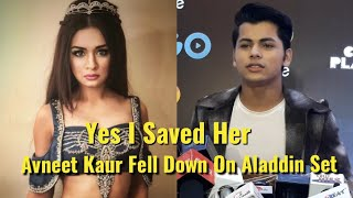 Siddharth Nigam Reacts On Avneet Kaur Fell Down On Set Of Aladdin - Digital Influencer Awards 2019