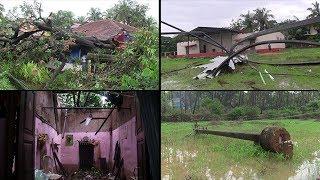 Cyclonic Winds Wreck Havoc at Divar