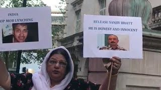 We Are Against Mob Lynching | A Lady From London Appeals For Justice For Tabrez And Sanjiv Bhatt