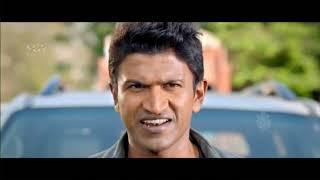 Puneeth Rajkumar Powerful Action Scene   Puneeth Kannada Movies