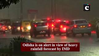 Heavy rain lashes parts of Odisha's Bhubaneswar