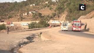Amarnath Yatra: 2nd batch of pilgrims enroute to Amarnath Yatra in Udhampur