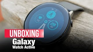 Galaxy Watch Active: Lighter, Smaller, Smarter | Unboxing, Features, Price | ETPanache