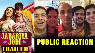 Jabariya Jodi Trailer | PUBLIC REACTION | Sidharth Malhotra, Parineeti Chopra
