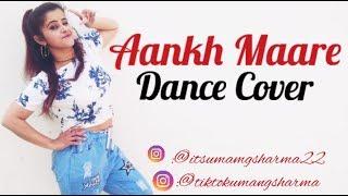 AANKH MAARE DANCE  VIDEO//  UMANG SHARMA //RANVEER SINGH//SARA ALI KHAN//SIMMBA