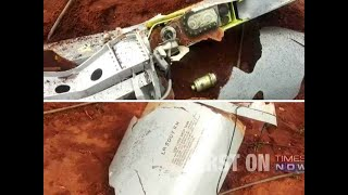 Fuel tank of IAF jet falls in a field near Sulur air base in Tamil Nadu