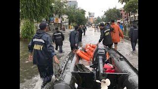 Mumbai rains: Shiv Sena mocks media, editorial claims water-logging in low-lying areas only