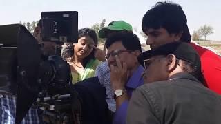 VIJAYANI विजयनी shooting Gunjan kapoor aditya mohan निर्देशक  brajbhushan k sath
