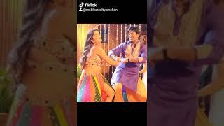 भोजपुरी सुपरस्टार आम्रपाली दुबे और आदित्य मोहन दुबे का ज़बरदस्त ठुमका फिल्म #काजल में