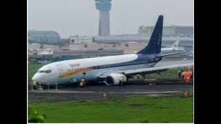 SpiceJet flight overshoots runway at Mumbai airport; none hurt