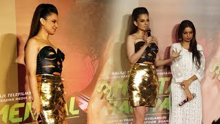 Kangana Ranaut GRAND ENTRY At Judgementall Hai Kya Trailer Launch