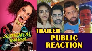 Judgementall Hai Kya Trailer PUBLIC Reaction | Kangana Ranaut | Rajkummar Rao