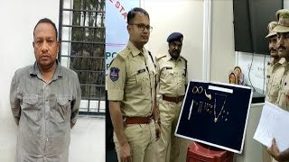 Robbery Of 10.5 Tolas Gold | Thief Got Arrested By Balapur Police | @ SACH NEWS |