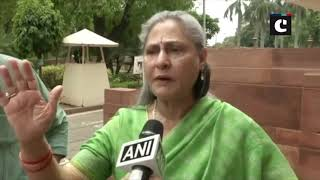 Jaya Bachchan urges media to use their power for women safety after giving zero hour notice in RS