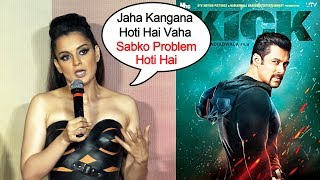 Kangana Ranaut REACTION On Why Title Changed To Judgemental From Mental