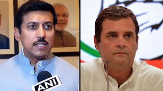 Rajyavardhan Rathore tears into Rahul Gandhi on the 'language' of resignation letter
