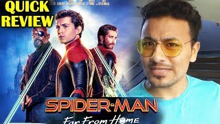 Spider-Man: Far From Home QUICK REVIEW | INDIA | Tom Holland