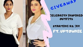 Affordable Celebrity Inspired outfits Rs. 319 to Rs. 800 ft. Uptownie + Giveaway | Nidhi Katiyar