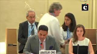 EFSAS director Junaid Qureshi urges UN to rectify 'serious inaccuracies' in its report on J&K