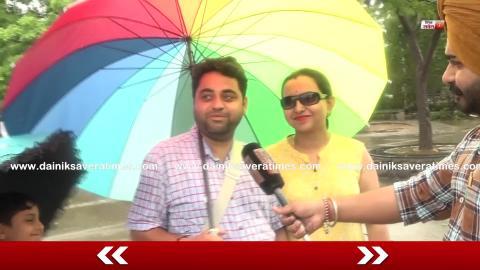 Exclusive : Chandigarh की Sukhna Lake पर लोगों ने Rain में किया Enjoy