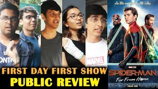 Spider-Man: Far From Home  PUBLIC REVIEW | First Day First Show | Tom Holland