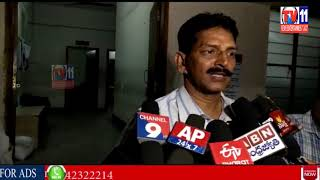 AIRPORT POLICE CONSTABLE  WRITER INSPECTED BY ACB FOR TAKING 15 THOUSEND RUPEES BRIBE