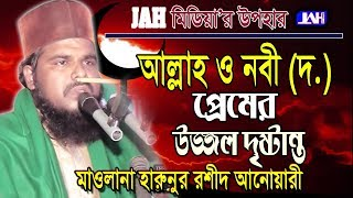 Bangla Waz । আল্লাহ্ ও নবী (দঃ) প্রেমের উজ্জ্বল দৃষ্টান্ত । Maulana Harunur Rashid Anwary Kaderi