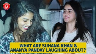 What Are Suhana Khan and Ananya Panday Laughing About?