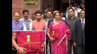 Bag replaces Budget briefcase: FM Nirmala Sitharaman breaks tradition