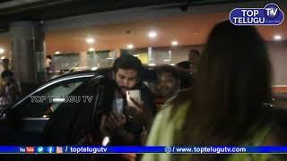 Kartik Aaryan Sara Ali Khan Spotted in Air Port   Bollywood News   Celebrities at Malaal Screening