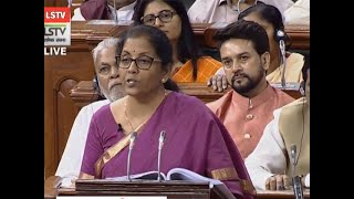 Simplified return form for GST registered businesses in offing: FM Sitharaman