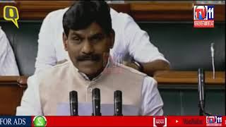 MP BB PATIL MEMBER OF PARLIAMENT FOR SECOND TIME IN THE PRESENCE OF SPEAKER OF LOK SABHA
