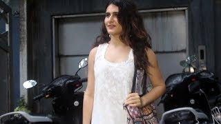 Fatima Sana Shaikh Spotted At Mukesh Chabbra Office Juhu